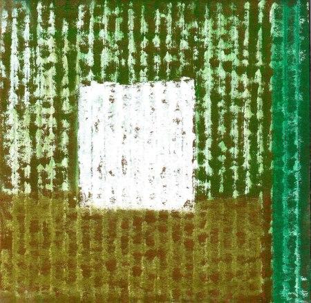 Spring Garden - Pastel on Corrugated Cardboard